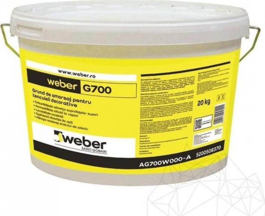 Grund de amorsaj Weber G700, 20kg
