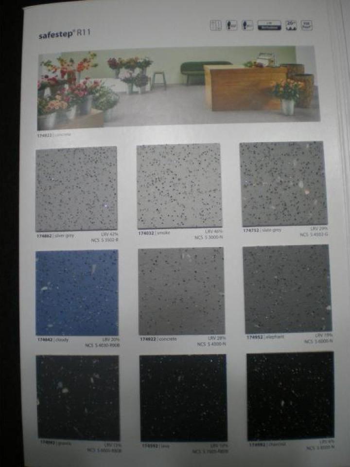 Linoleum antiderapant R11