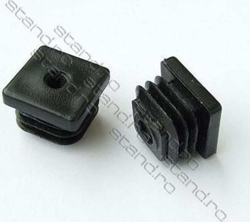 Dop pentru tevi rectangulare 25*25mm 7808