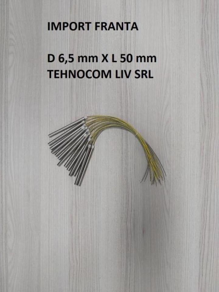 Rezistenta cartus D 6,5 X L 50 mm, P 125, 150, 200, 250