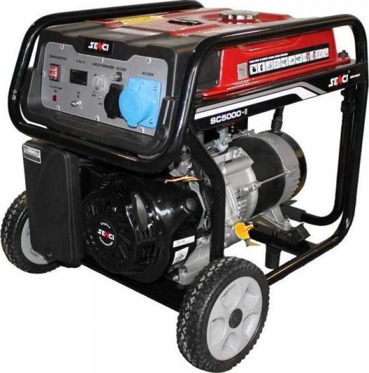 Generator curent electric Senci - benzina, 4.5 kW, AVR
