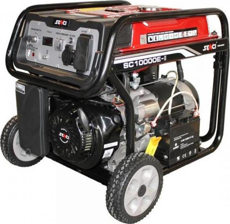 Generator curent electric Senci - benzina, 8.5 kW, AVR