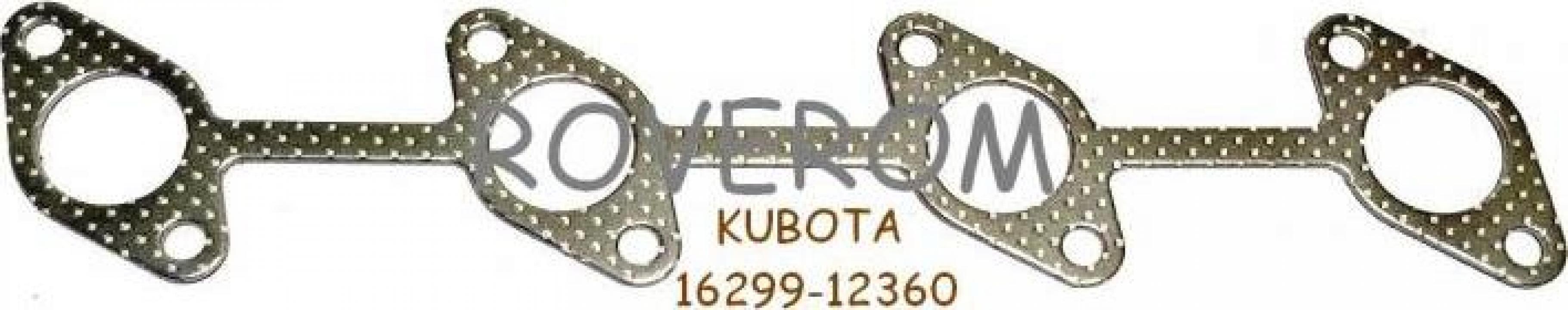 Garnitura galerie evacuare Kubota V1505, Hitachi ZX30, ZX35