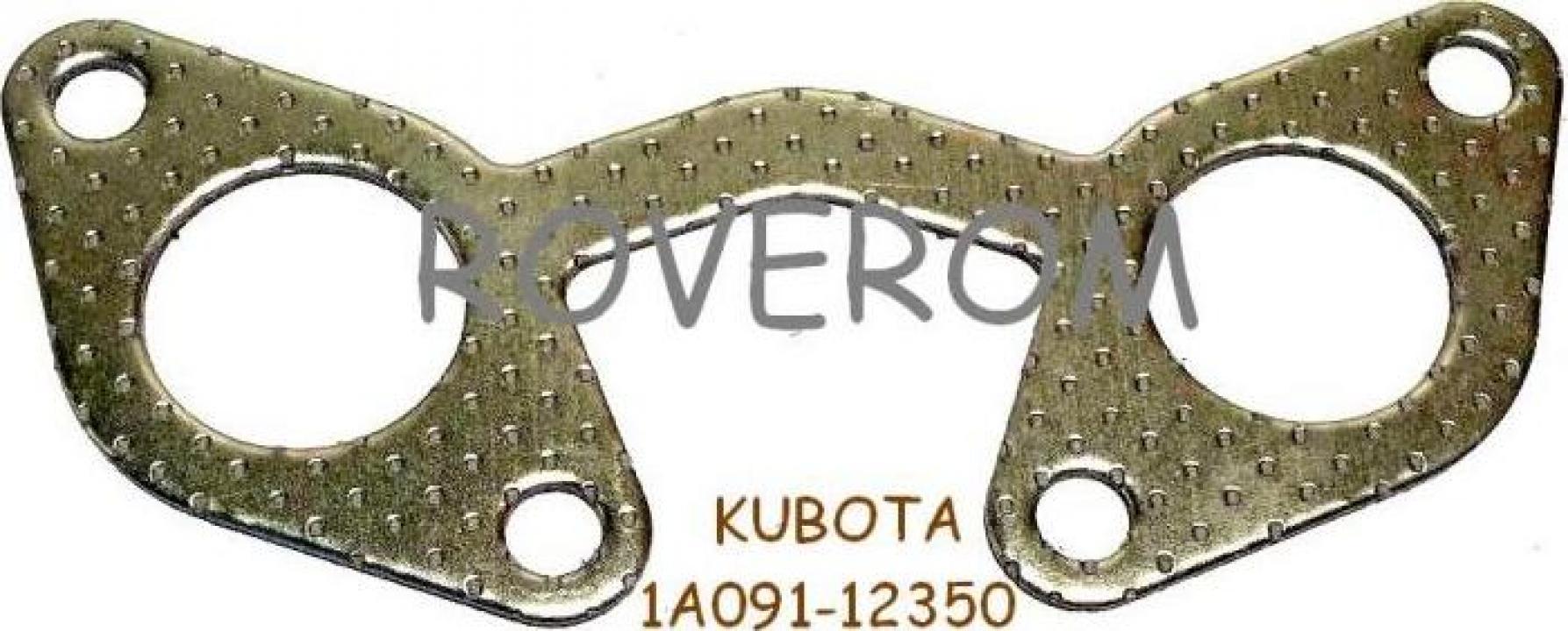 Garnitura galerie evacuare Kubota V2203, V2400, Carrier