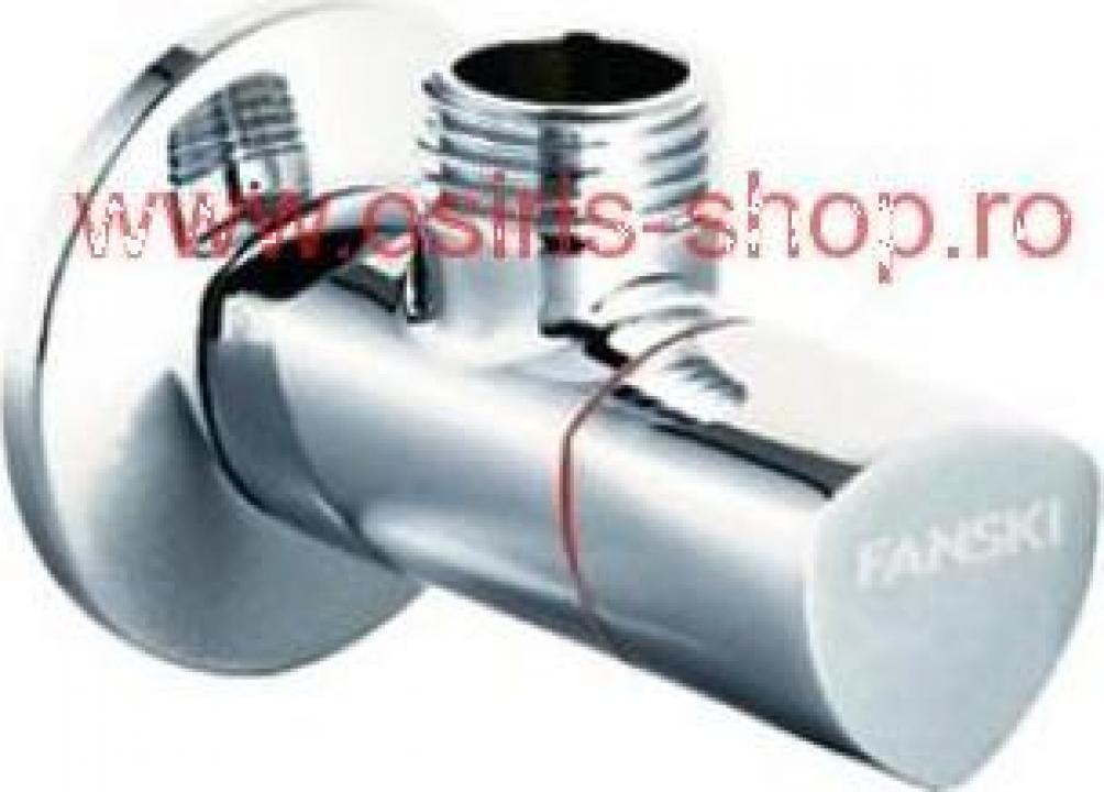 Robinet coltar cu cap ceramic AP008 1/2X1/2 Fanski