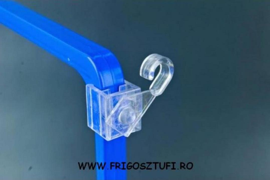 Suport carlig rotativ pentru rame ABS