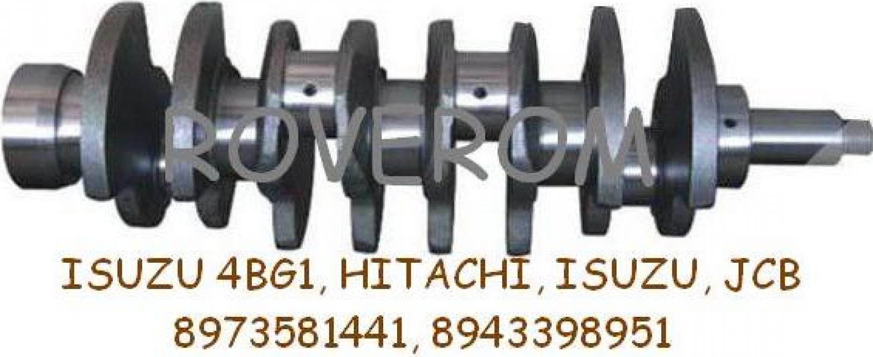 Arbore cotit Isuzu 4BG1, Hitachi, Isuzu, JCB