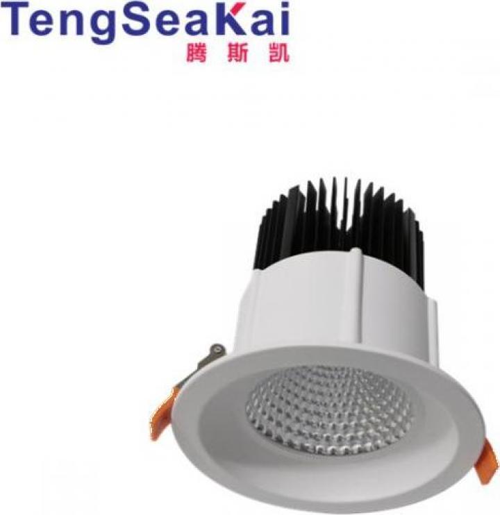 Spoturi LED COB reflector incastrat 7W 10W 15W, 230V