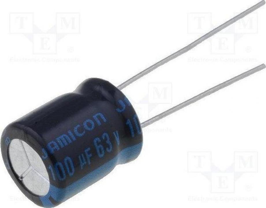 Condensator TKR101M1JGBCM 100uF 63VDC