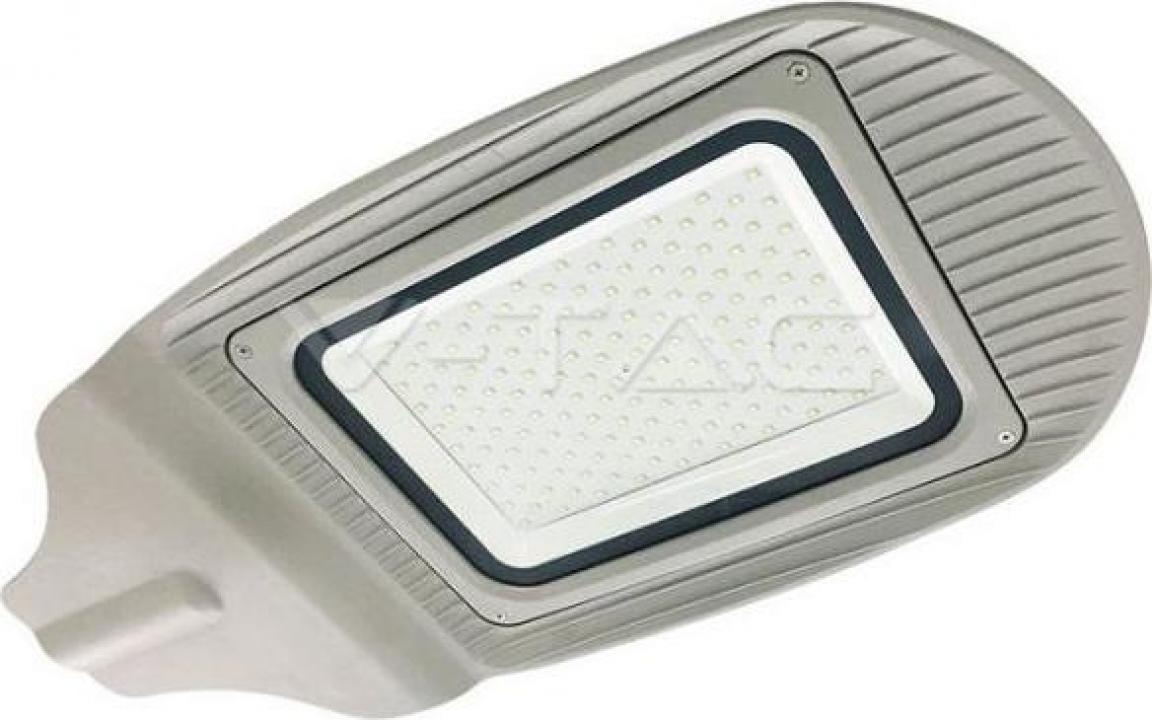 Lampa stradala corp gri alb natural 100W SMD