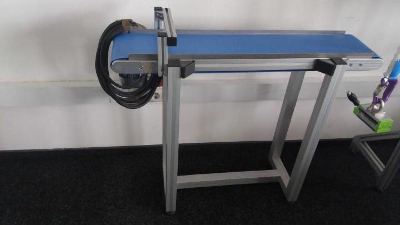 Conveior cu banda poliuretan TB45D-120X500