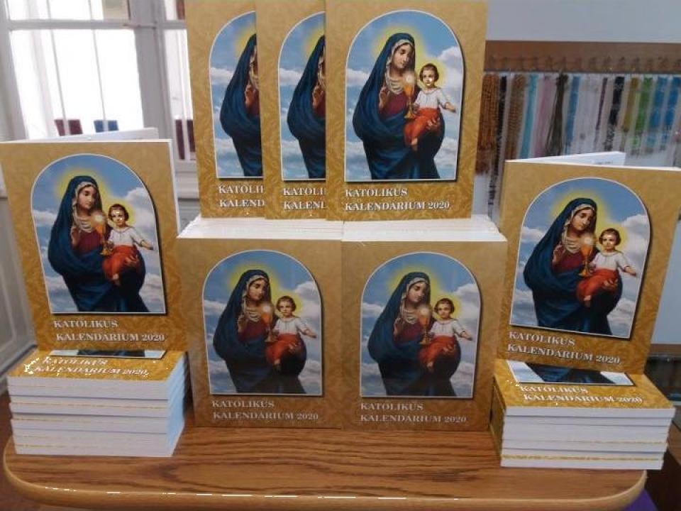 Calendar bisericesc Katolikus Kalendarium 2020