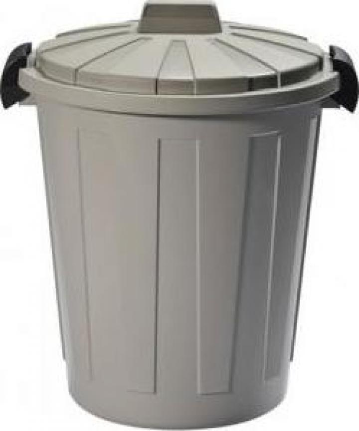 Cos de gunoi, Strend Pro DEAhome Ladybin 45L, gri