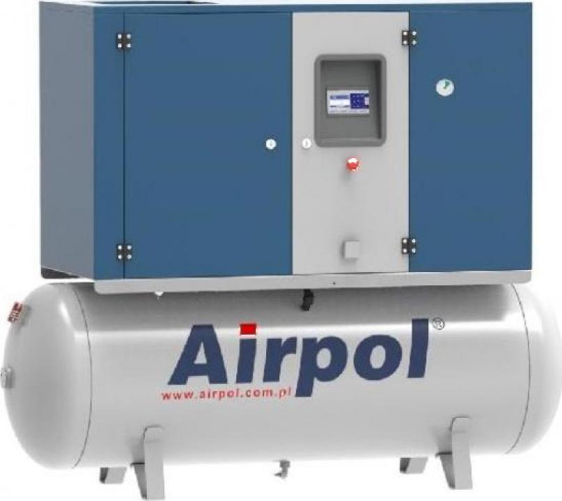 Compresor cu surub si uscator Airpol KT7