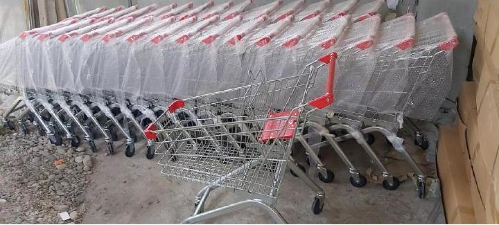 Carucior nou de supermarket 90 L
