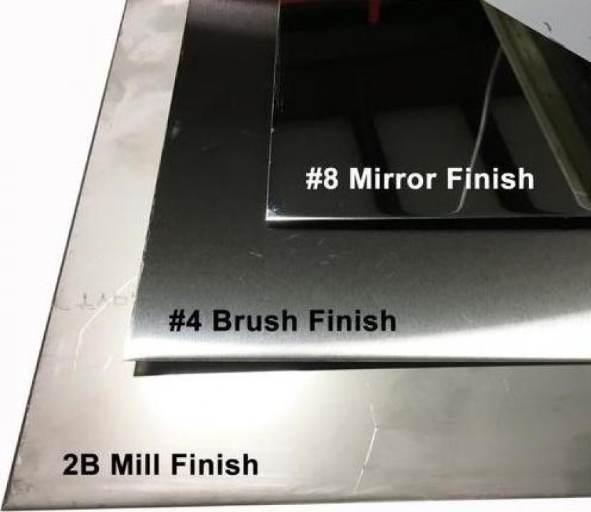 Tabla inox 3x1250x2500mm mata oglinda satinata perforata