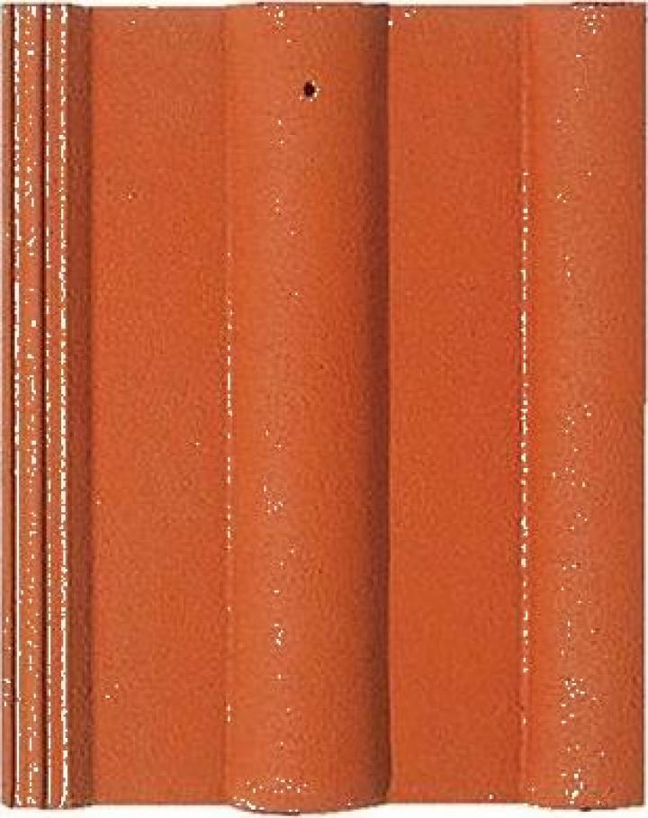 Tigla de beton 1/1 Bramac Donau rosu caramiziu