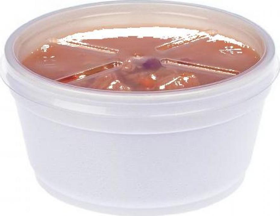 Bol supa polistiren 12 Oz (355ml) 500 buc/bax