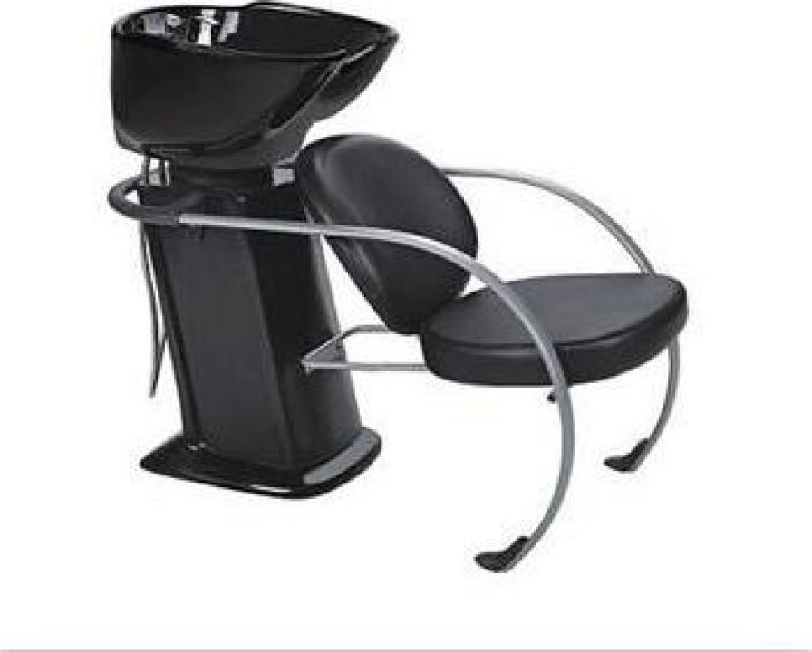 Scafa coafor cu scaun cu bazin ceramic
