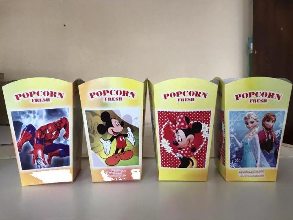 Cutii pentru popcorn mici The Best