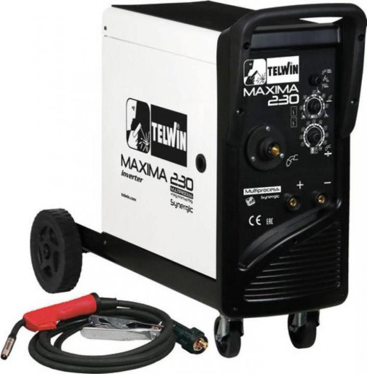 Aparat invertor de sudura Telwin Maxima 230 20-220A 230V