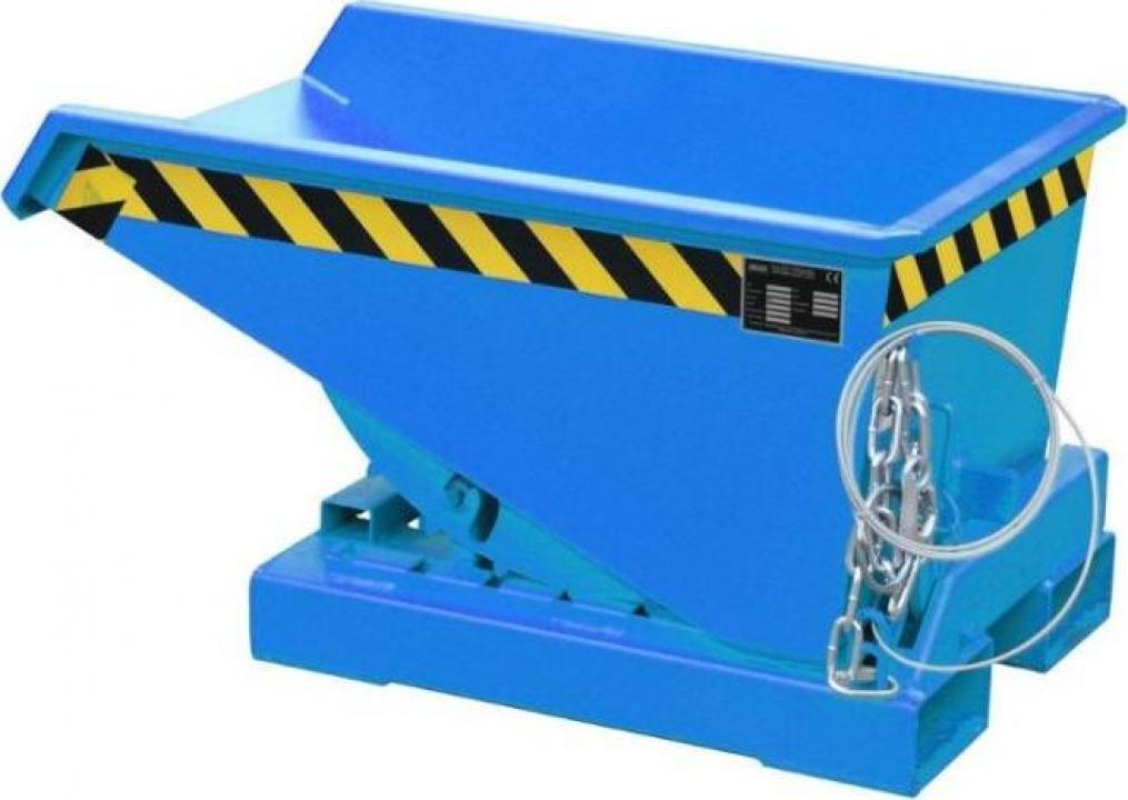 Container basculant pentru stivuitor 750kg