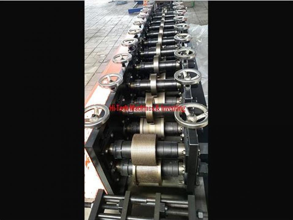 Linie de productie profile metalice in domeniul electric