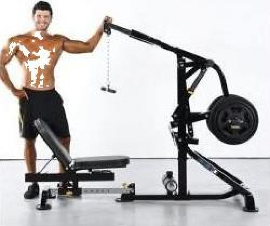 Aparat fitness multifunctional Powertec L-CG