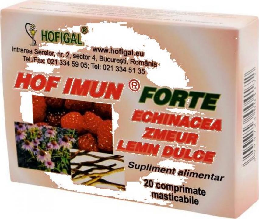 Supliment alimentar Hof Imun Forte 20 cps Hofigal