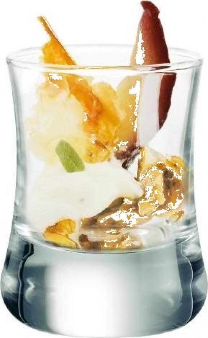 Pahar sticla shot sau apetizer Club 60 ml