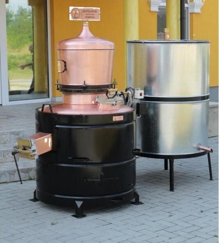 Cazan tuica 350 litri, 5mm + amestecator electric