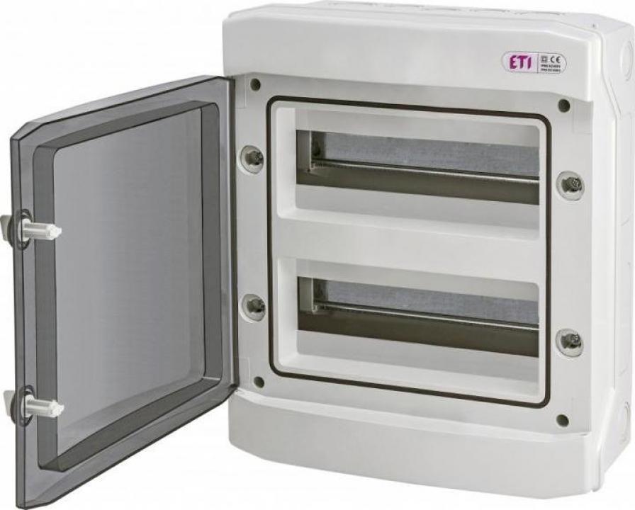 Tablou electric aplicat 24 module, IP65 ETI