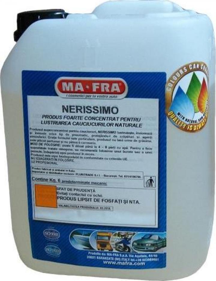 Solutie pentru protectie si luciu anvelopa Nerissimo 6 kg