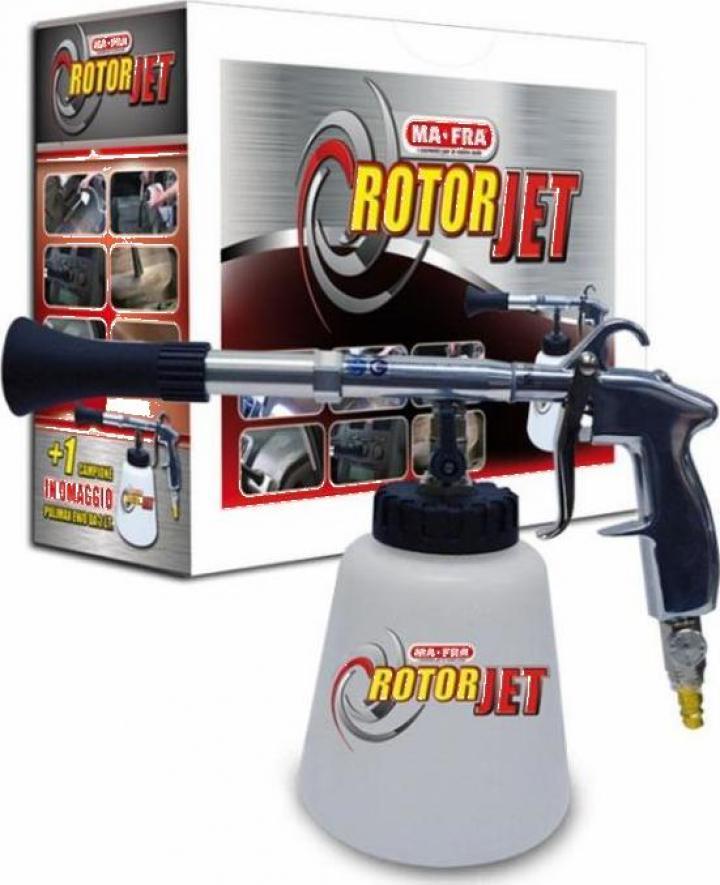 Aparat curatat interior auto Rotorjet