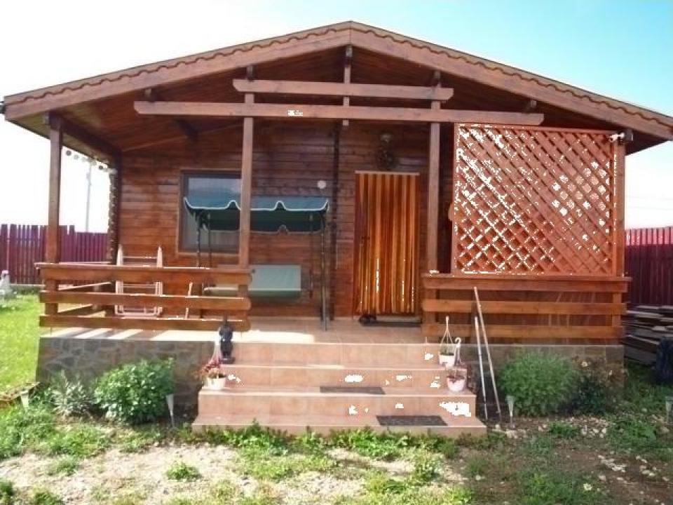 Casa de vacanta din lemn - 60 mp