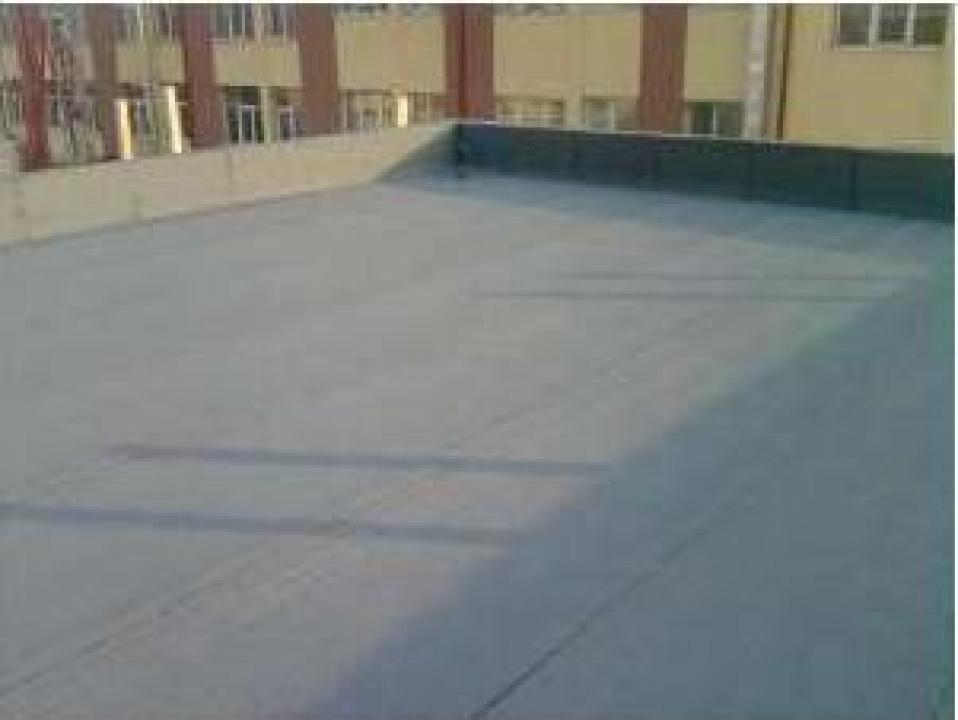 Hidroizolatii cu membrane bituminoase la terase, fundatii