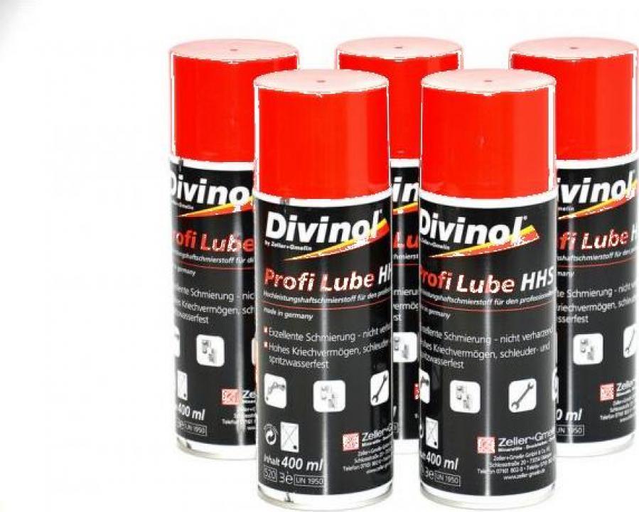 Spray lubrifiant aderant Divinol Profi Lube HHS, 400ml