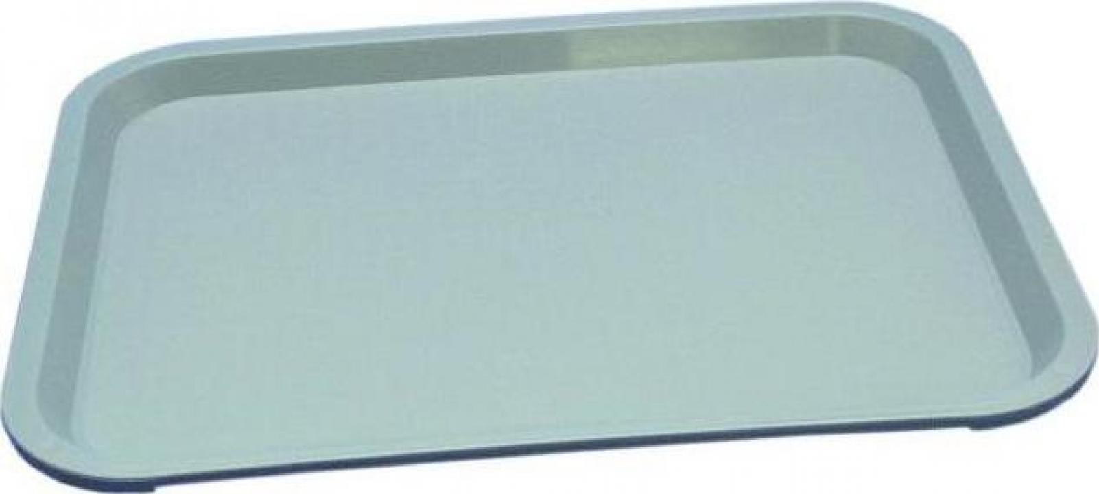 Tava pentru foodcourt PP gri, 41.5x31 cm
