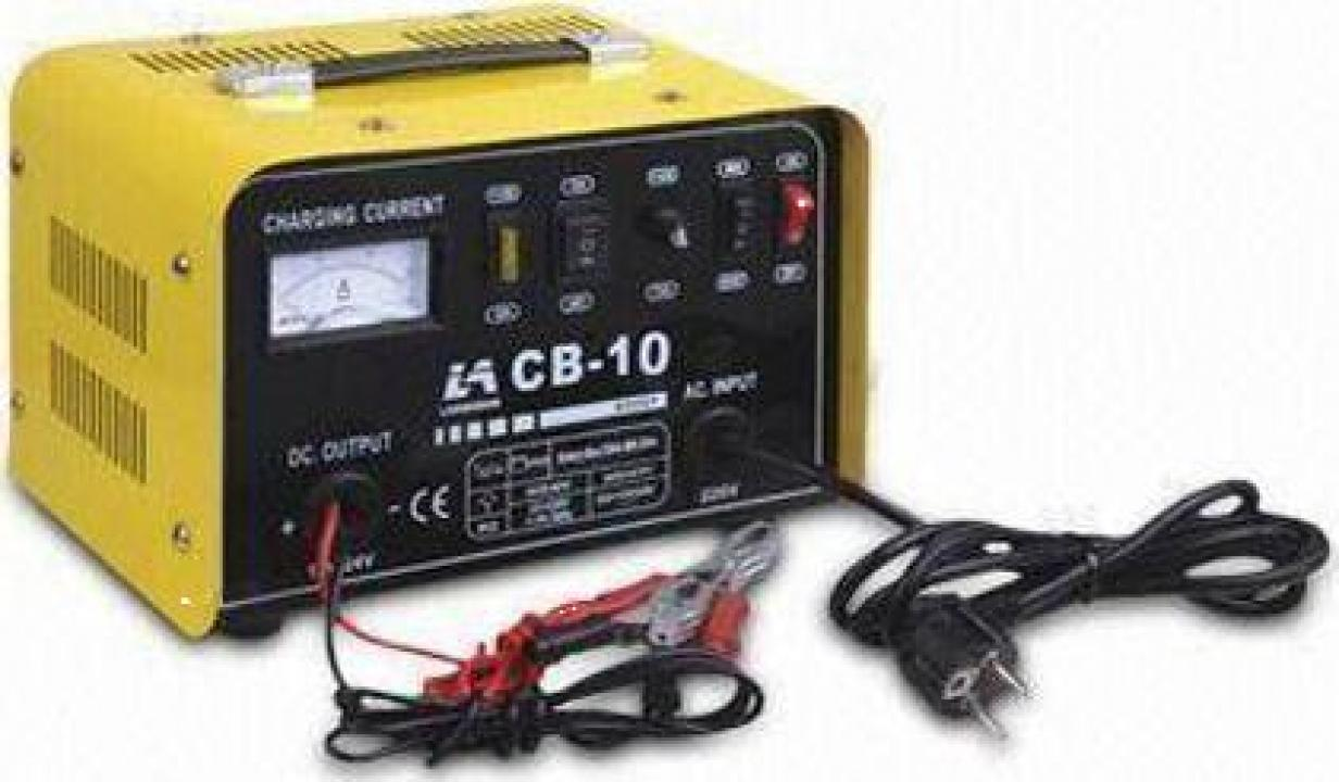 Redresor auto Tehnoweld CB-10, 12-24 V, 12-100 Ah