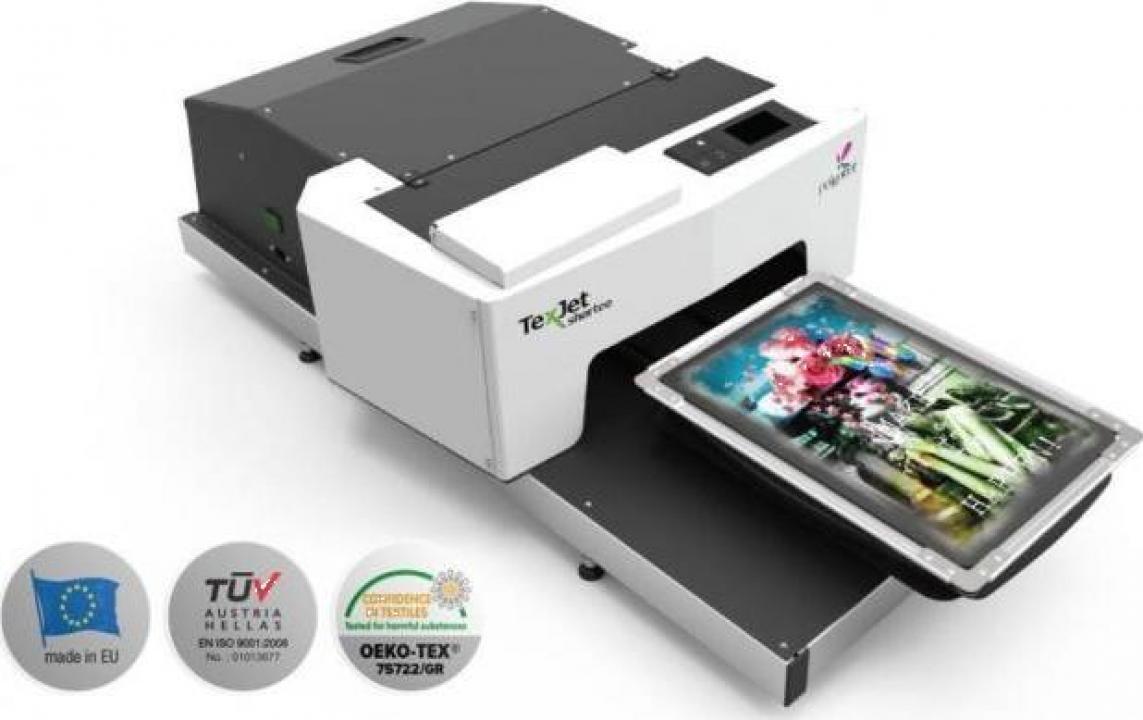 Imprimanta DTG Polyprint Texjet Shortee 2