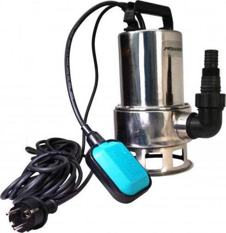 Pompa submersibila apa curata ProGarden CSP400Dinox-1A, 400W