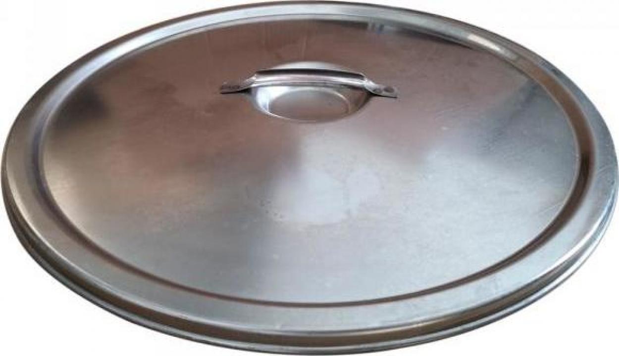 Capac antipraf pentru cisterna Marchisio CP40, 400 mm, inox