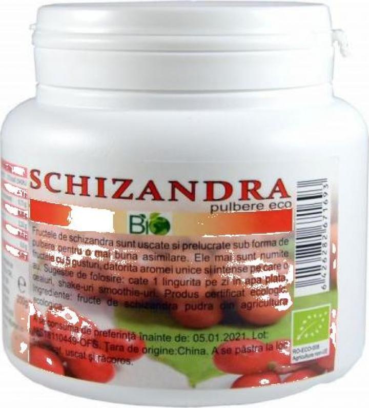 Pulbere Schizandra, bio 200g
