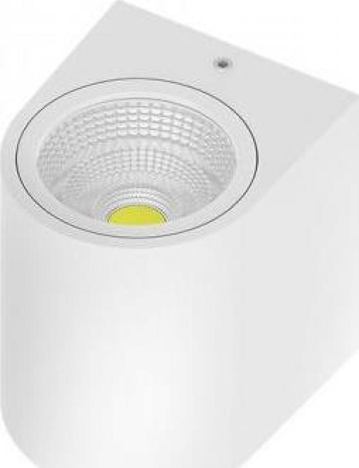 Corp LED 5W, 450LM, 3000K, alb, IP44 RITA-PL