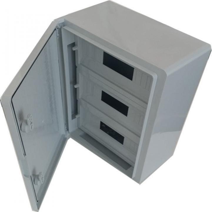 Panou electric ABS cu usa mata 45 module D:35x50x19 cm, IP65