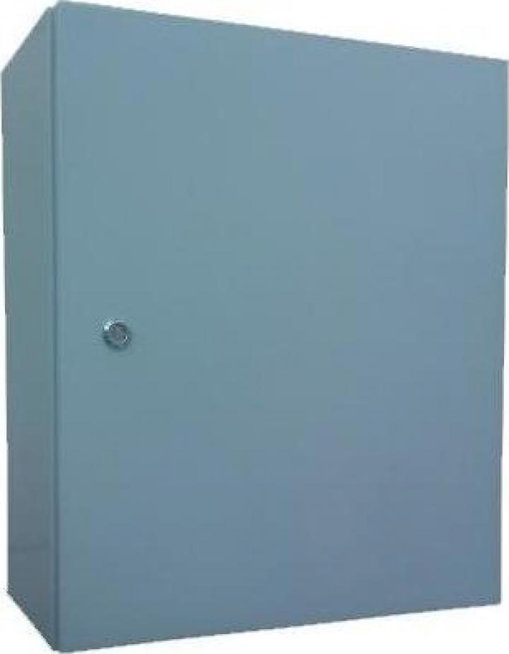 Panou electric metalic D:60x100x25 cm, culoare gri, IP54