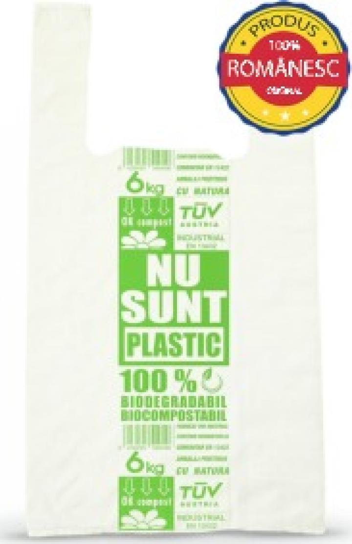 Sacose biodegradabile 6 kg, 100 buc/set, 8 set/bax