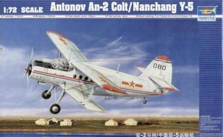 Macheta 1:72 Antonov An-2 Colt / Chinese Y-5 1:72