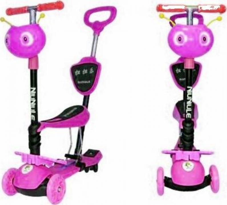 Trotineta copii micro scooter 5in1 1-8 ani fetite 40kg